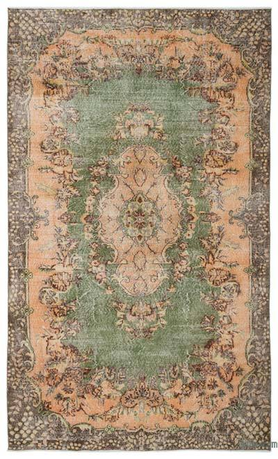 """Turkish Vintage Area Rug - 6' 5"""" x 10' 6"""" (77 in. x 126 in.)"""