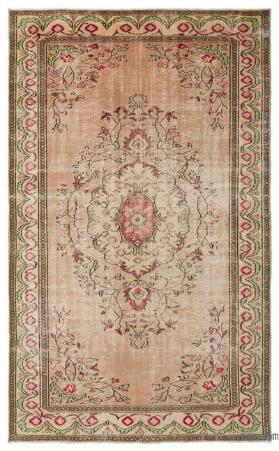 "Turkish Vintage Area Rug - 6' x 9'9"" (72 in. x 117 in.)"