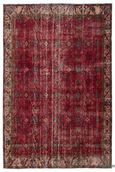 """Turkish Vintage Area Rug - 6' 6"""" x 9' 8"""" (78 in. x 116 in.)"""