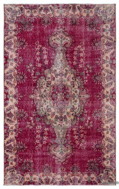 """Turkish Vintage Area Rug - 5' x 8'3"""" (60 in. x 99 in.)"""