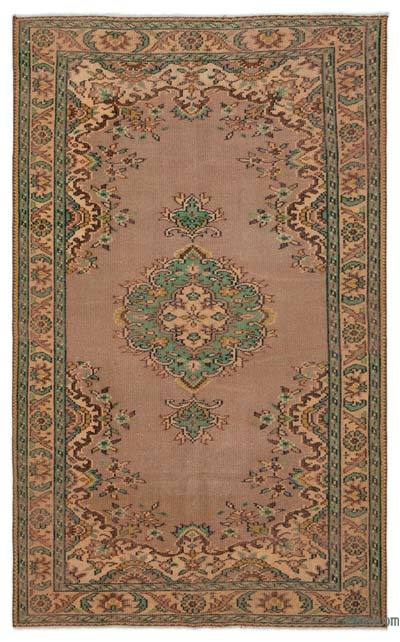 """Turkish Vintage Area Rug - 5' x 8'2"""" (60 in. x 98 in.)"""