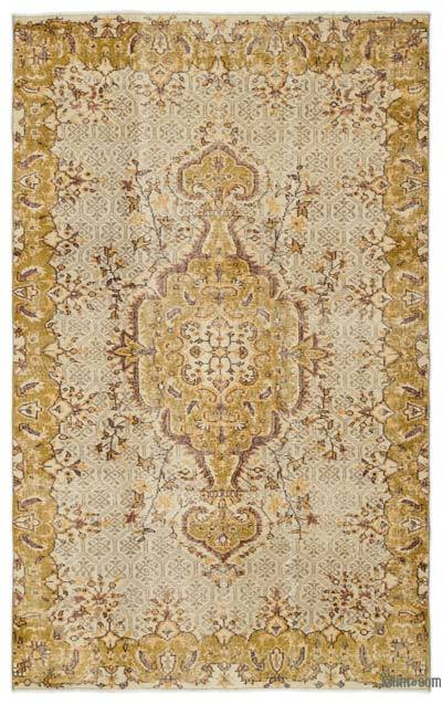 """Turkish Vintage Area Rug - 5'1"""" x 8'3"""" (61 in. x 99 in.)"""