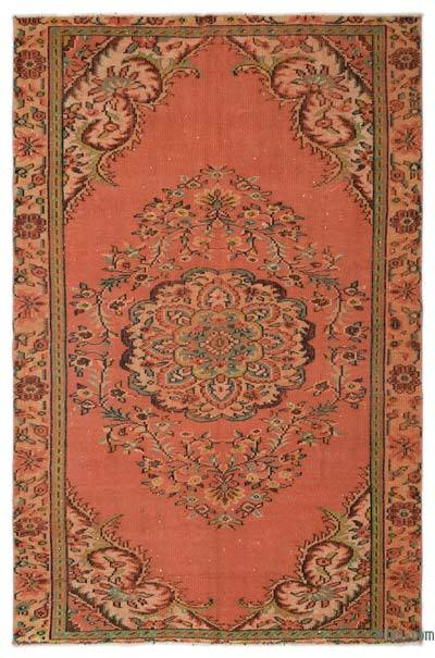 """Turkish Vintage Area Rug - 5'8"""" x 8'6"""" (68 in. x 102 in.)"""