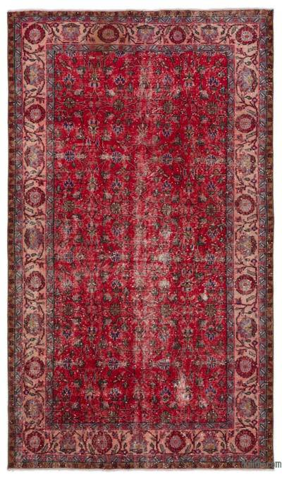 """Turkish Vintage Area Rug - 5' 5"""" x 9'  (65 in. x 108 in.)"""