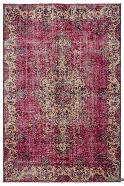 "Turkish Vintage Area Rug - 7'3"" x 10'11"" (87 in. x 131 in.)"