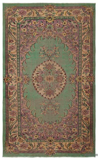 """Turkish Vintage Area Rug - 6'1"""" x 10'2"""" (73 in. x 122 in.)"""