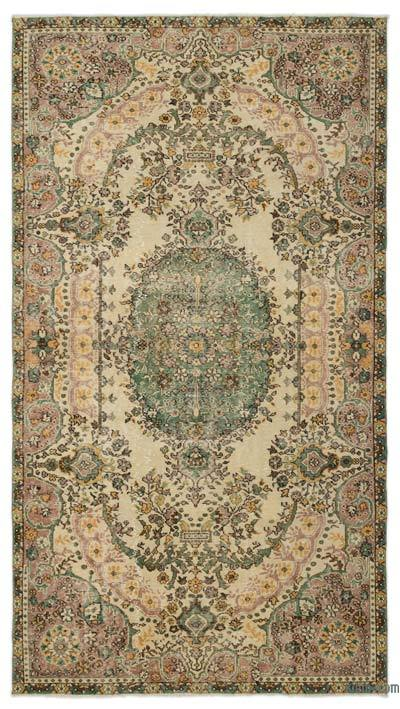 "Turkish Vintage Area Rug - 5'6"" x 9'10"" (66 in. x 118 in.)"