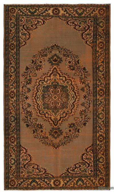 "Turkish Vintage Area Rug - 5' x 8'9"" (60 in. x 105 in.)"