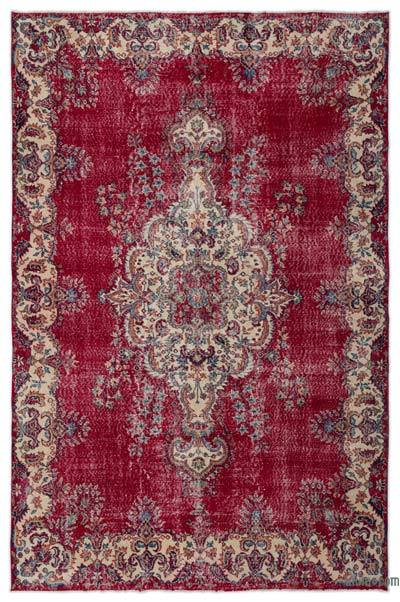 "Turkish Vintage Area Rug - 7' x 10'8"" (84 in. x 128 in.)"