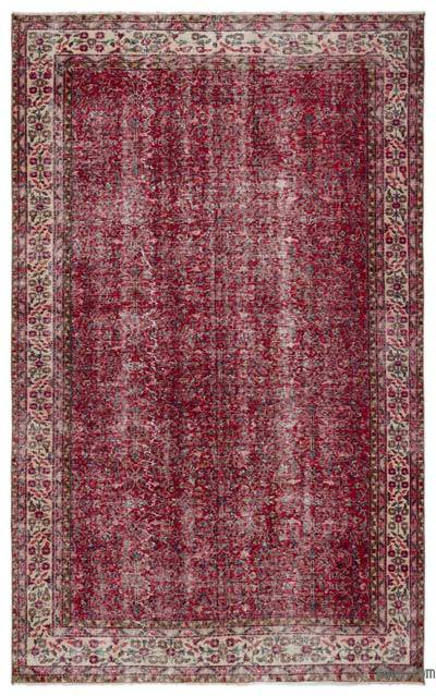"Turkish Vintage Area Rug - 6'4"" x 10'1"" (76 in. x 121 in.)"