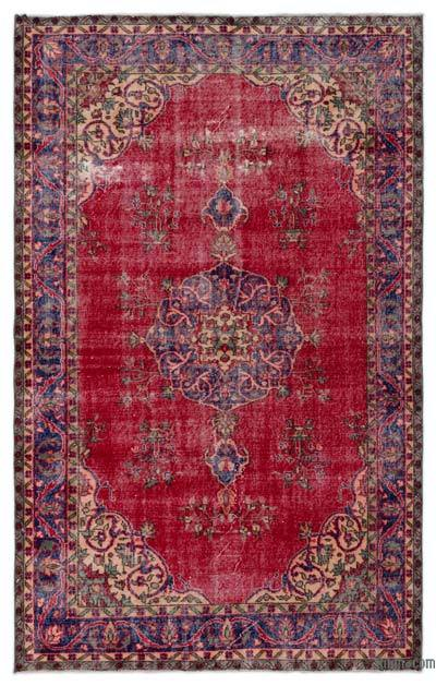"""Turkish Vintage Area Rug - 5'8"""" x 9' (68 in. x 108 in.)"""