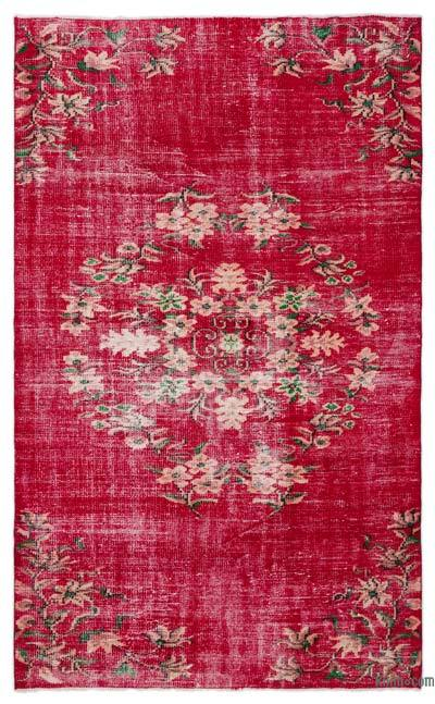 "Turkish Vintage Area Rug - 5'5"" x 8'8"" (65 in. x 104 in.)"