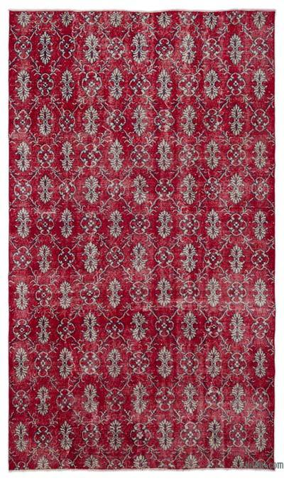 """Turkish Vintage Area Rug - 5' 8"""" x 9' 8"""" (68 in. x 116 in.)"""