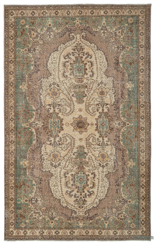 K0023043 Turkish Vintage Area Rug 6