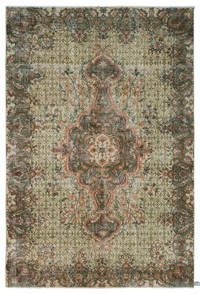 "Turkish Vintage Area Rug - 5' 5"" x 8' 2"" (65 in. x 98 in.)"
