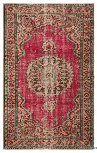"Turkish Vintage Area Rug - 5'7"" x 8'10"" (67 in. x 106 in.)"