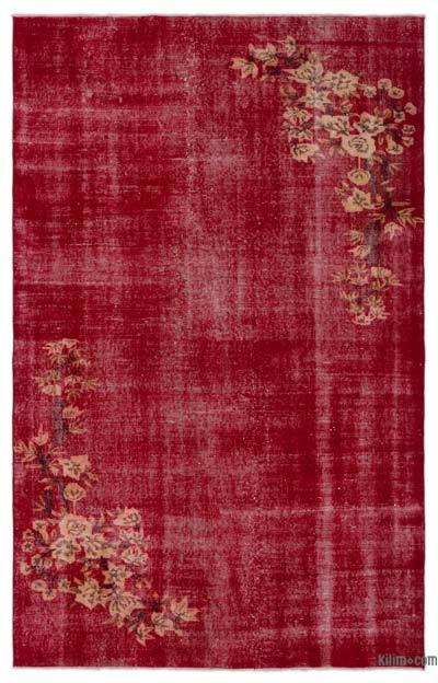"""Turkish Vintage Area Rug - 5'8"""" x 8'11"""" (68 in. x 107 in.)"""
