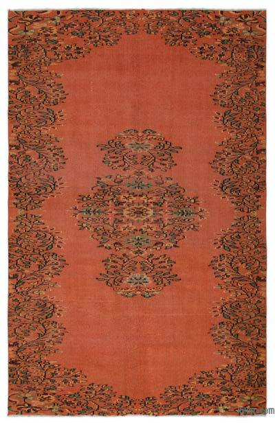"""Turkish Vintage Area Rug - 5'4"""" x 8'4"""" (64 in. x 100 in.)"""