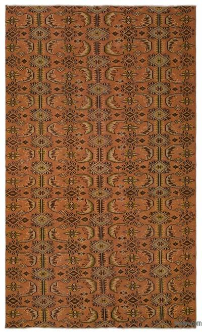 """Turkish Vintage Area Rug - 5'3"""" x 8'11"""" (63 in. x 107 in.)"""