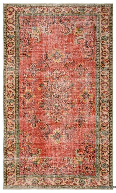 "Turkish Vintage Area Rug - 5'11"" x 9'9"" (71 in. x 117 in.)"