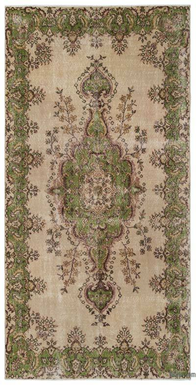 """Turkish Vintage Area Rug - 5'6"""" x 10'11"""" (66 in. x 131 in.)"""