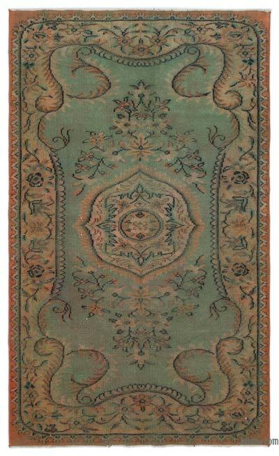 "Turkish Vintage Area Rug - 5' 1"" x 8' 5"" (61 in. x 101 in.)"