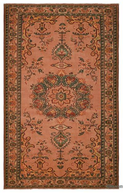 "Turkish Vintage Area Rug - 6'3"" x 9'11"" (75 in. x 119 in.)"