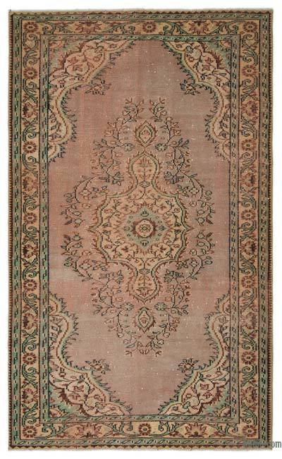 "Turkish Vintage Area Rug - 5'6"" x 9' (66 in. x 108 in.)"
