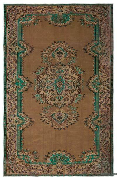 """Turkish Vintage Area Rug - 5'10"""" x 9'1"""" (70 in. x 109 in.)"""