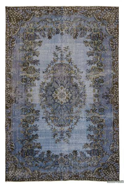 "Over-dyed Turkish Vintage Rug - 5' 9"" x 8' 10"" (69 in. x 106 in.)"