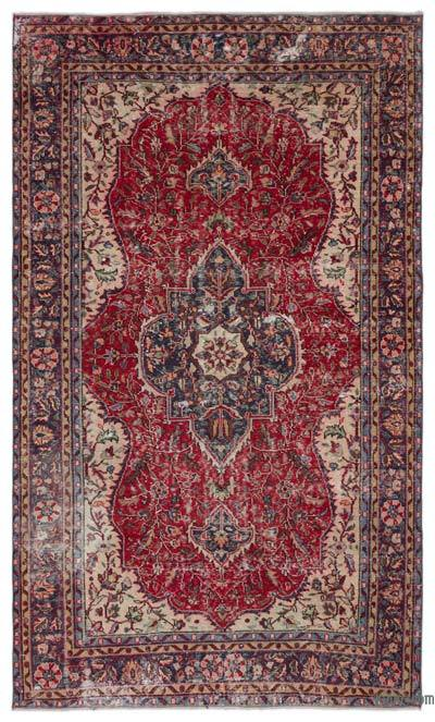 "Turkish Vintage Area Rug - 5'9"" x 9'9"" (69 in. x 117 in.)"