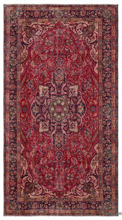 """Turkish Vintage Area Rug - 5'3"""" x 9'11"""" (63 in. x 119 in.)"""