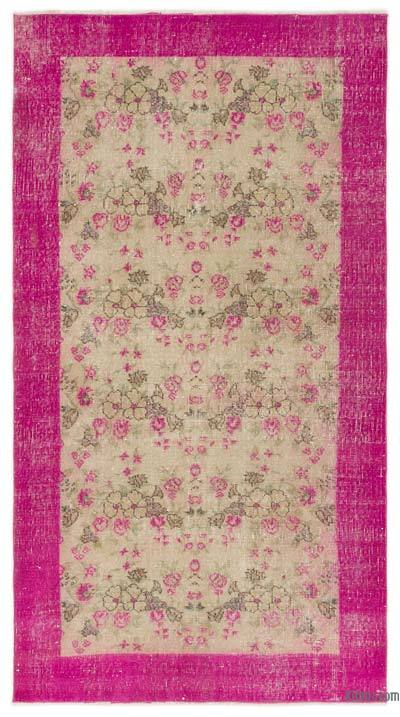 """Turkish Vintage Area Rug - 3'6"""" x 6'2"""" (42 in. x 74 in.)"""