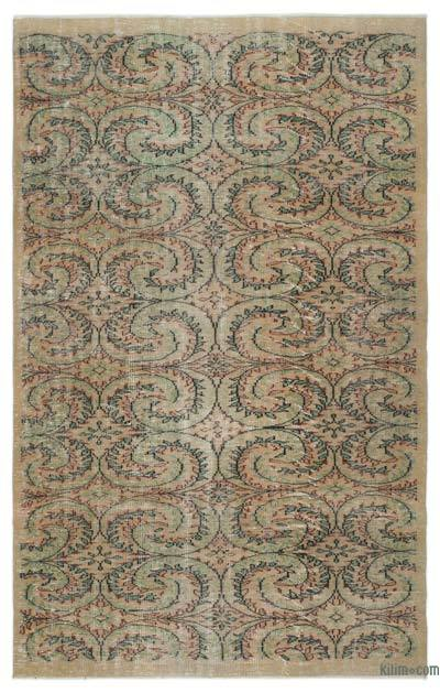 "Turkish Vintage Area Rug - 6' 2"" x 9' 8"" (74 in. x 116 in.)"