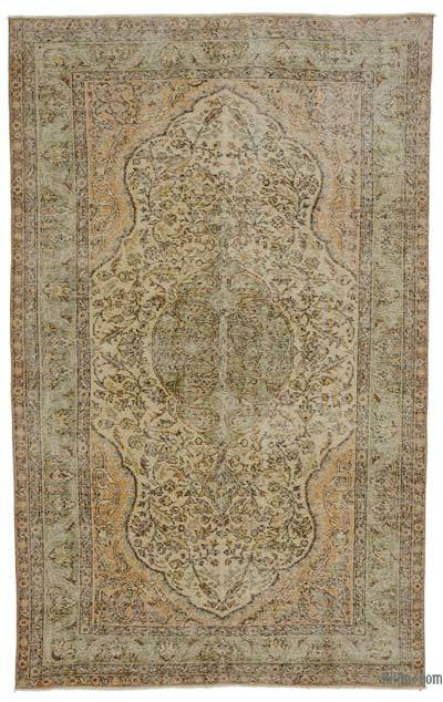 "Turkish Vintage Area Rug - 5' 5"" x 8' 10"" (65 in. x 106 in.)"