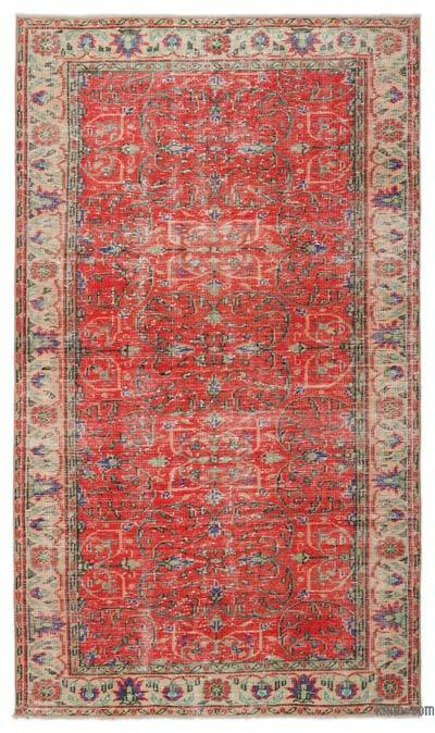 """Turkish Vintage Area Rug - 4'11"""" x 8'6"""" (59 in. x 102 in.)"""