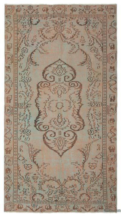 El Dokuma Vintage Halı - 157 cm x 271 cm
