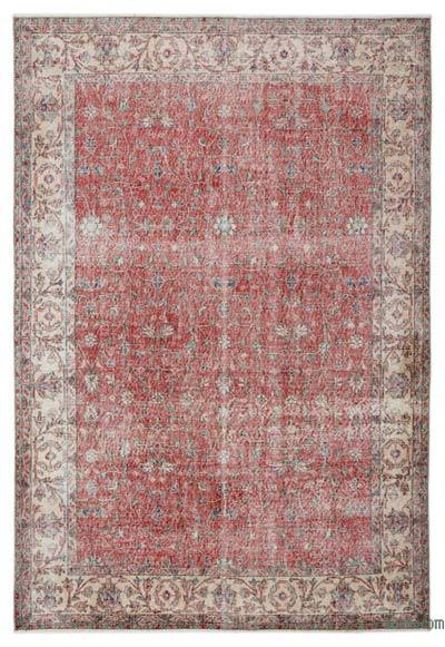 "Turkish Vintage Area Rug - 6' x 8'6"" (72 in. x 102 in.)"