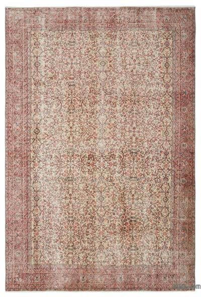 "Turkish Vintage Area Rug - 6'10"" x 10'3"" (82 in. x 123 in.)"