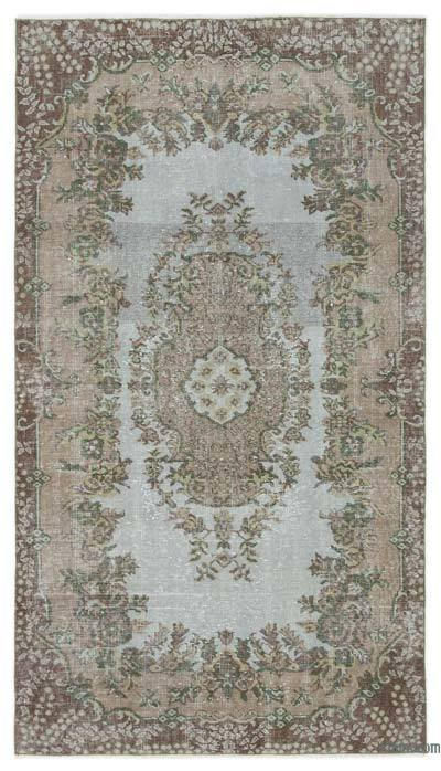 """Turkish Vintage Area Rug - 3'11"""" x 6'10"""" (47 in. x 82 in.)"""