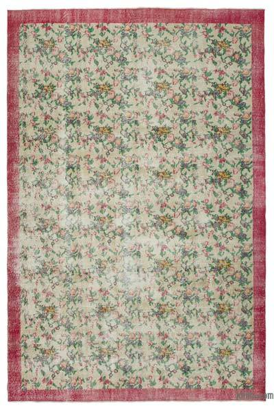 """Turkish Vintage Area Rug - 7' x 10'7"""" (84 in. x 127 in.)"""