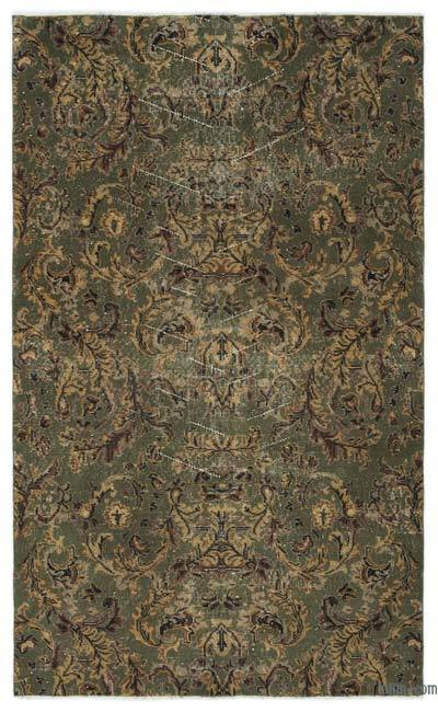 """Turkish Vintage Area Rug - 4'2"""" x 6'9"""" (50 in. x 81 in.)"""