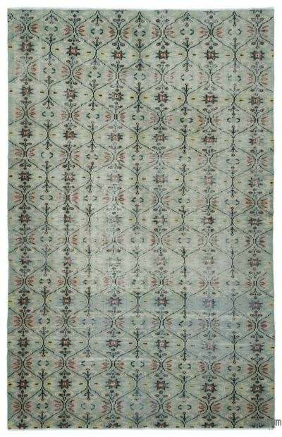"Turkish Vintage Area Rug - 6' x 9'5"" (72 in. x 113 in.)"
