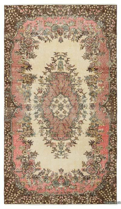 "Turkish Vintage Area Rug - 3' 10"" x 6' 9"" (46 in. x 81 in.)"