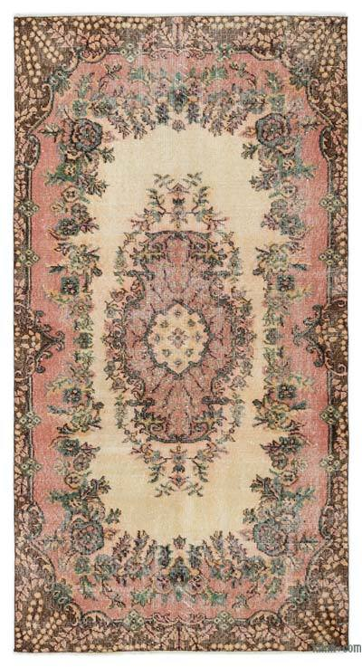 "Turkish Vintage Area Rug - 3' 7"" x 6' 9"" (43 in. x 81 in.)"