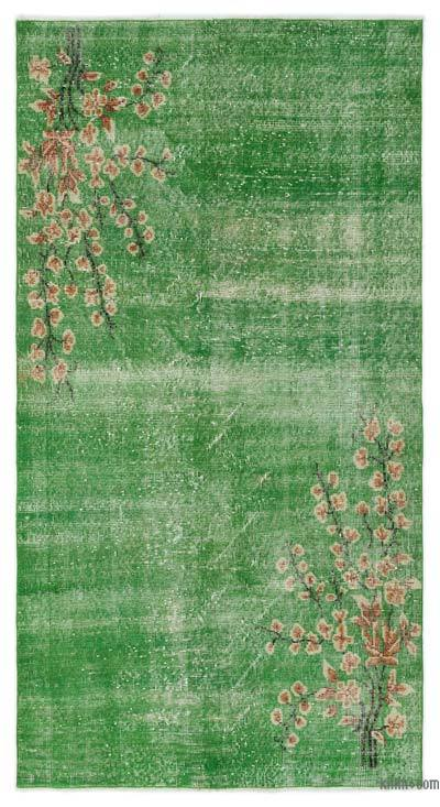"""Turkish Vintage Area Rug - 3'8"""" x 6'9"""" (44 in. x 81 in.)"""