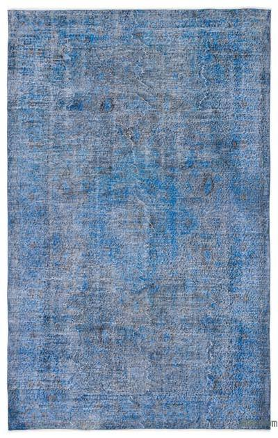 """Over-dyed Turkish Vintage Rug - 6' x 9'7"""" (72 in. x 115 in.)"""