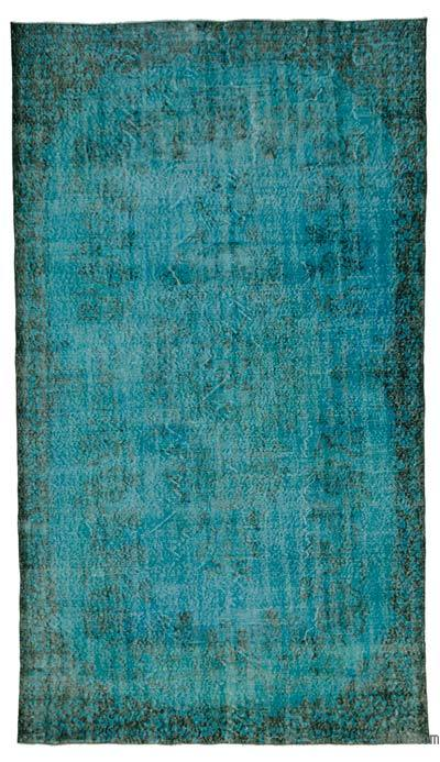 "Over-dyed Turkish Vintage Rug - 6'  x 10' 6"" (72 in. x 126 in.)"