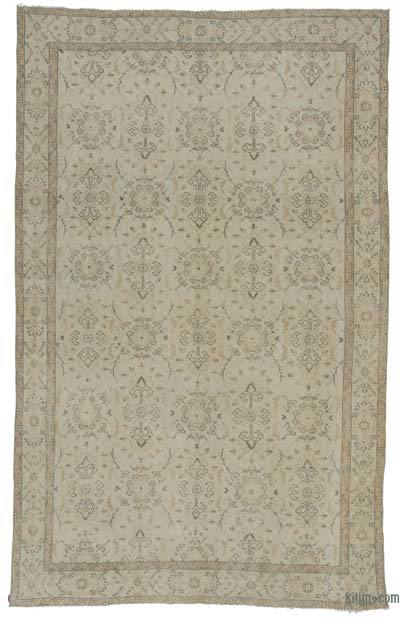 "Over-dyed Turkish Vintage Rug - 6'3"" x 10' (75 in. x 120 in.)"