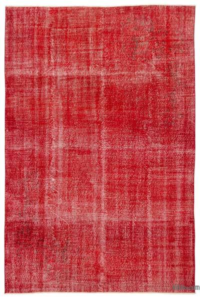"Over-dyed Turkish Vintage Rug - 6'8"" x 10'1"" (80 in. x 121 in.)"